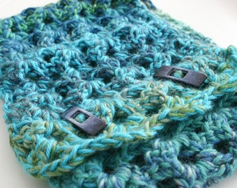 Sea Ice Cowl Crochet Pattern, Scarf, Men, Women, Teen, Child