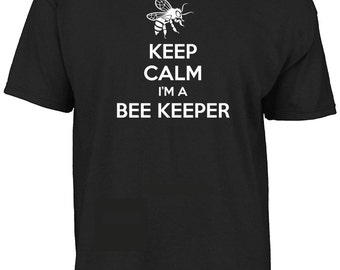 Keep calm I'm a Bee keeper t-shirt