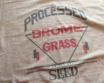 vintage brome grass 50 lb. sack