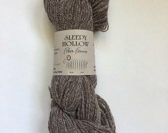 """Yarn Shetland Wool blend in """"Cinnamon Tweed"""""""