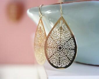 Festival Jewelry, Dangle Earrings, Bridesmaid Jewelry, Gold Earrings, Boho Jewelry, Birthday Gifts, Best Friend Gifts, Boho Earrings Gift