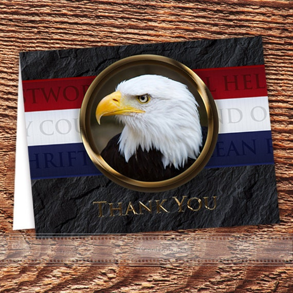 Eagle Scout thank you card, Eagle Scout Court of Honor instant download, editable thank you card, Boy Scouts of America notecard, ID127