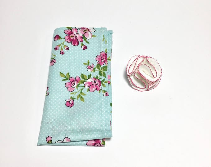 Floral Square and Pink Flower Pack
