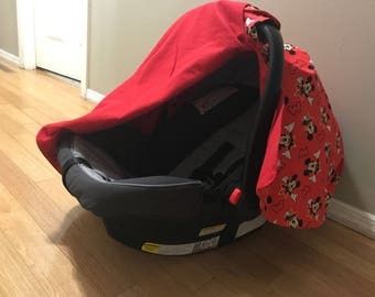 Mickey Mouse Car Seat Cover