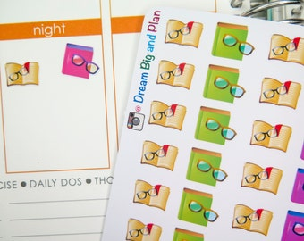 Reading Books  Planner Stickers! DBP22