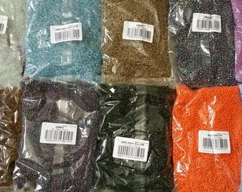 Wholesale lot dealer beads seed beads + 4kg 500 2 to 4 mm