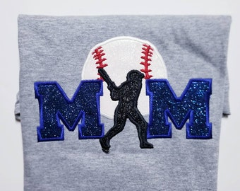 Baseball Mom Shirt - Womens Baseball Tee - Mom Baseball Shirt - Baseball Shirts - Personalized Shirt - Baseball Mom Gift
