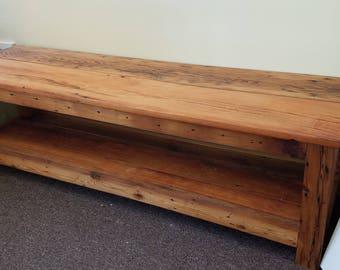 Reclaimed wood Living room set