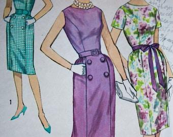 Fab Sheath Dress Pattern---Simplicity 3874---Size 16 Bust 36