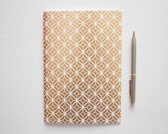writing journal, travel journal, prayer journal, bridesmaid gift, small sketchbook, lined journal, sketchbook journal, gold foil notebook