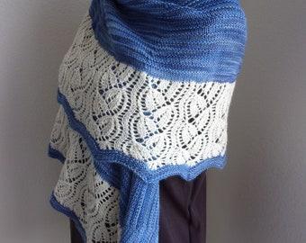 Dayflower Wrap knitting pattern