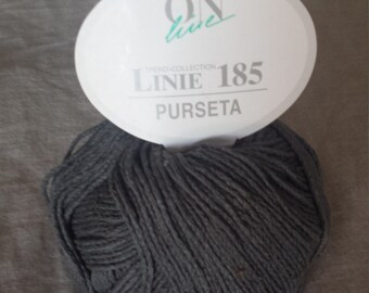 ONline Linie 185 Purseta 100% Silk Yarn TrendCollection Color 4  Grey