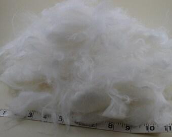 Angora Fiber Raw SALE - Destashing My Angora Rabbit Fiber - 2 ounces
