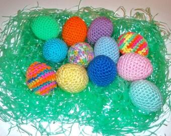 3 Catnip Cat Toy Easter Eggs