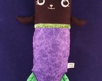 Black mercat catfish plushie SALE
