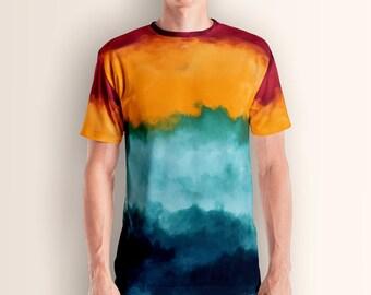Storm at Coast, Men's T-shirt