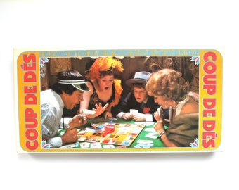 1975 Parker Brothers Gambler (Coup de Des) Board Game FRENCH Version