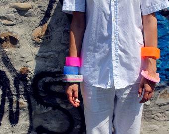 LITH_1, bracelet en résine, bracelet en résine, fabriqué en Italie, fait à la main en Italie, série lithium1