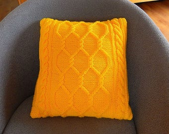 sunny cable cushion cover