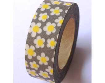 Washi Tape - flower (10M)