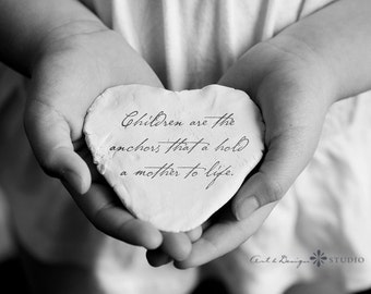 Mothers Wedding Gift, Inspirational Encouraging Quotes for Mom from Child, Mother Quote Print, Gifts for Her, Mother Child Gift, Photo Gift