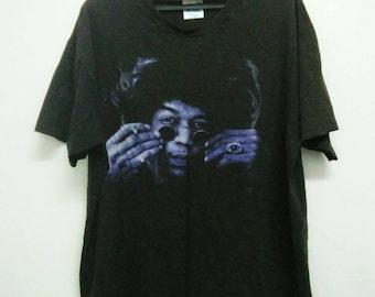 vtg 90s Jimi Hendrix band shirt