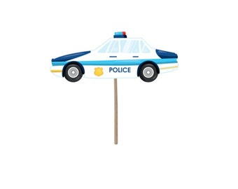 Cupcake Toppers, police party, police cupcake topper, policeman, birthday party, police birthday, party supplies, birthday supplies