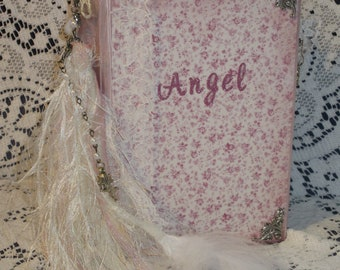 Angel Junk Journal, Vintage Junk Journal, Handmade Journal