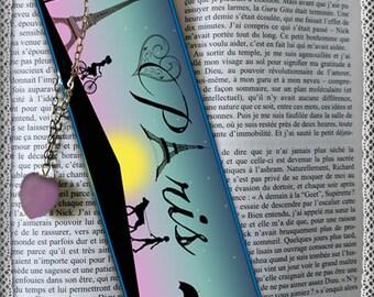 "Laminated bookmarks ""Made in Paris"""