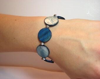 Aegean Sea - Interchangeable Beaded Watch Band