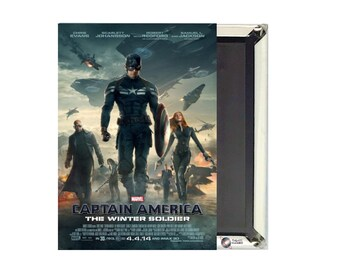 Captain America The Winter Soldier Magnet