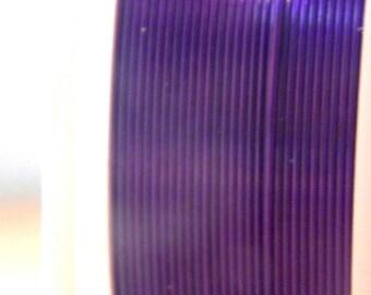 spool of 12 M Fil 0.4 mm - purple - for DIY jewelry - F12