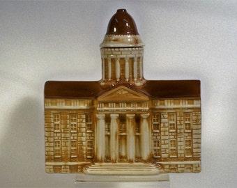 Old Mr. Boston Brand Kentucky Straight Bourbon Decanter - Capitol Building – 1970 - Empty