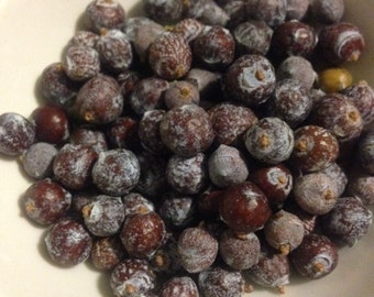 Juniper berries, wild harvested, new harvest! 3-oz, free shipping!