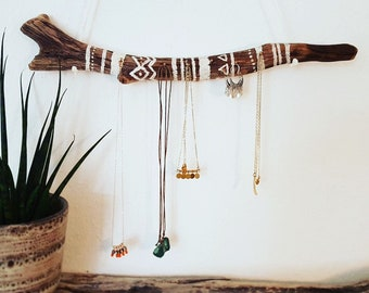 Jewelry Hanger made of driftwood