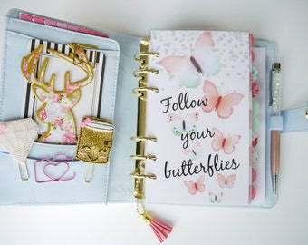 Follow Your Butterflies Personal, A5, A6, B6 & Pocket Size Planner Dashboards