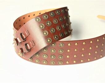 RARE Vintage Belt - gift for women - bridal belt - wedding belt - vegan belt - belt can fit for Size M and L