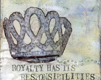 Responsibilities a Petite Print