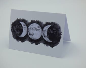 Triple Goddess Greeting Card