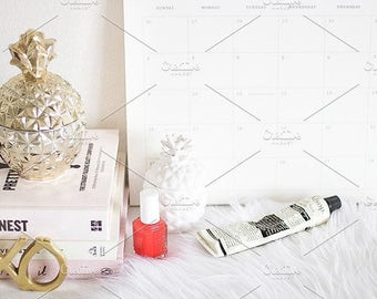Styled Stock Photo | Pretty Beauty Desk Details | Blog stock photo, stock image, stock photography, blog photography