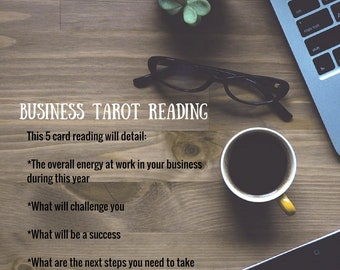 Business Tarot Reading - Guidance for Success! Create the Business of Your Dreams!