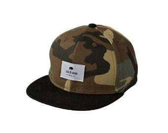 Camo Hip and Stylish Snapback Hat for Baby, Toddler, and Child