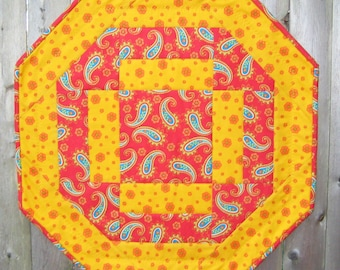 Quick and Easy Octagon Table Topper PDF Quilting Pattern (SMS-104PDF)
