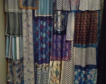 """Shades of Blue #2 Gypsy Boho Curtains - 84"""""""