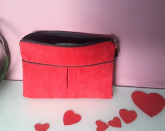 """Collection """"Valentine"""" red pouch"""