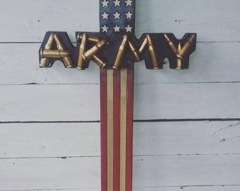 Army, Marines, Airforce, Fireman Cross