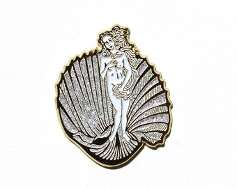 Birth of Venus Enamel Pin