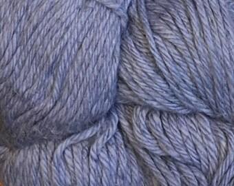Denim Blue Cascade Hampton Pima Cotton and Linen DK Weight Yarn 273 yards color 11