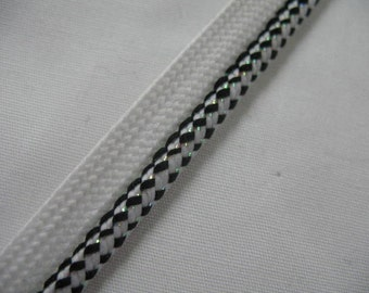 White Black and IRIDESCENT Pillow Trim Piping Cord Gimp