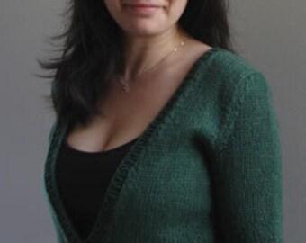 Knitting Pattern for Vee Pullover